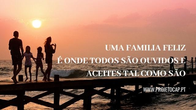 Projeto CAP - 3 princípios para criares uma família unida e feliz